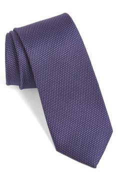 Calibrate 'Madison' Solid Silk Tie (Blue, Red, Navy, Purple) #nsale #jrc