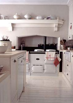 Most Design Ideas Cottage Style Kitchen Renovation Pictures, And Inspiration – Modern House Kitchen Interior, Kitchen Design, English Cottage Kitchens, Aga Kitchen, Kitchen White, Rustic Kitchen, Casa Clean, Cocinas Kitchen, Range Cooker