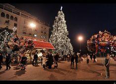 Aristotelous Square Christmas Tree, Thessaloniki, Greece