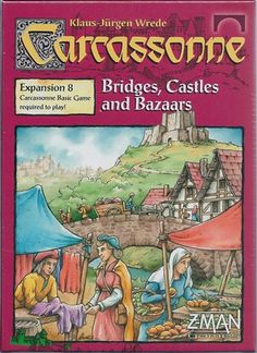 Carcassonne Board Game Expansion: Bridges, Castles And Bazaars Details and Review