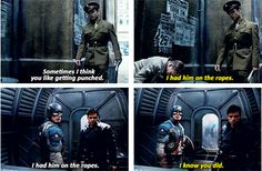 Captain America: The First Avenger, oh how my heart has been crushed