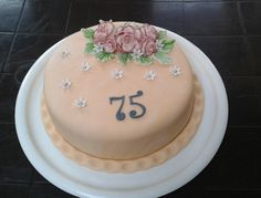 dort - narozeninový s růžemi / cake - Birthday with roses