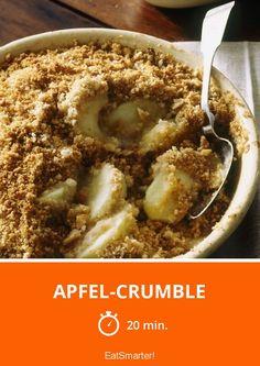 Apfel-Crumble - smarter - Zeit: 20 Min. | eatsmarter.de