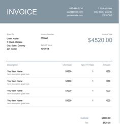 Invoice Generator Minutebill A Convenient Web App To Create & Download Invoices  Create