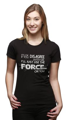 The Force Awakens, And So Do The Funny T-shirts! Check out our awesome #StarWars parody tees today!!