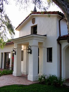 Spanish style homes in Santa Barbara California. Designers specializing in Spanish homes and landscapes with authentic details