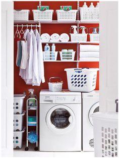 Tener un cuarto de lavado desde luego que ayuda ¿Cómo equiparlo? [LAVADO Y PLANCHA]