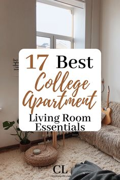 We may earn money or products from the businesses mentioned in this post. It's finally time to move into your first college apartment, and out of your college dorm room. This is an exciting move… More