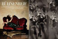 circus feature in may 2009 vogue germany shot by koto bolofo. Light Photography, Editorial Photography, Amazing Photography, Joey Wright, Woman Show, Harlequin Romance, Next Trends, Circus Performers, Vintage Circus