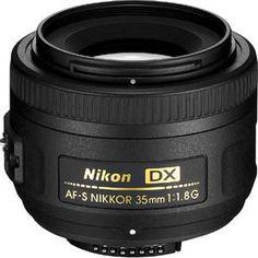 Nikon 35mm f/1.8G AF-S DX Nikkor Lens for DSLR Cameras  #holiday #photography #gifts
