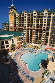 Wyndham Vacation Resorts Emerald Grande at Destin Pool; been there and this place is amazing!!