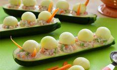 Chicken Salad Caterpillars | Hidden Valley®
