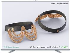 Collar accessiory with chains 2 Full Permission