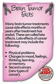 Facts 1  #braintumorawareness Seems like all my problems took their good old time getting here.