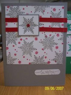 WT01, Snowflakes - - casacastes by casacastes - Cards and Paper Crafts at Splitcoaststampers