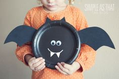 Paper Plate Crafts- 21 Creative and Fun DIY Halloween Crafts Ideas for Kids