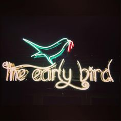 'The Early Bird catches the Worm'