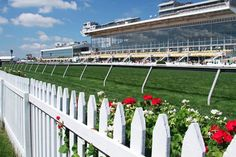 Pimlico opened in 1870 and is located in Baltimore, Maryland. Pimlico hosts the 2nd jewel in the Triple Crown, the Preakness Stakes. © David Eisenbeil