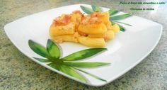 Pasta al forno con stracchino e cotto, piatto unico