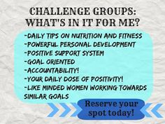 Ever wondered what my fitness challenge groups are all about and if they would be a good fit for you? I explain it all in my blog post! I have a new Challenge Group starting on June 20th and would love to have you join. Message me or fill out my Challenge Group Application located at the bottom of my blog post and I will get you all set up to crush those goals!! Team Fit Journey: Why Should YOU Join My FREE Fitness Challenge Grou...