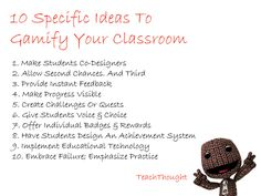 10 Specific Ideas to Gamify Your Classroom