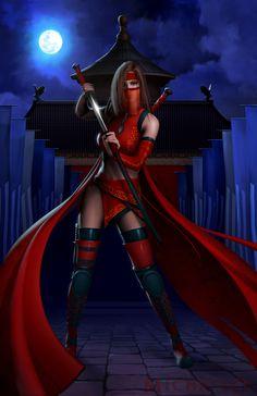 ✯ Destiny ~by *MichaelO*✯ #Sword #Samurai #Women