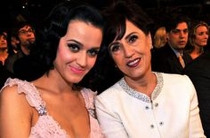 Katy Perry and her mom.