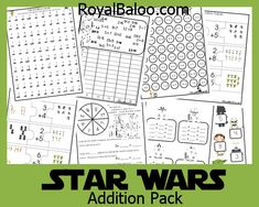 These Star Wars themed packs are perfect for kids aged 4-8.I have the packs separated by age groups, although your kids may be ready for something for a different group!  Use materials that are right for your kids despite the general age I attach to it!Included in the packs: Scroll Down to download   Graphics …