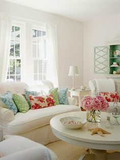 pops of color with pillows