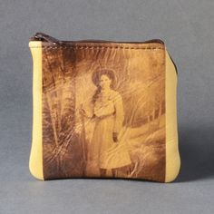 Annie Oakley Leather Coin Purse