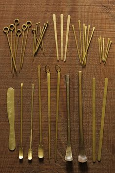 Brass Cutlery | IRRE Wooden Pallet Furniture, Metal Furniture, Fabrication Tools, Copper Utensils, Copper Work, Chalk Design, Dining Ware, Metal Forming, Vintage Tableware