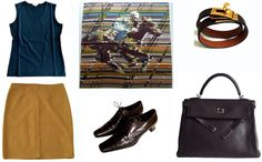 Autumn capsule wardrobe, Hermes Photo Finish, how to tie a bow knot, MaiTai scarf tutorial