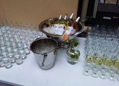 Чаши, шампаниери, декорация