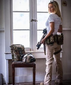 Wife material,While I by no means believe women should be soldiers I do believe its a great benefit to all women to know how to shoot