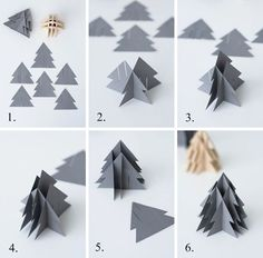 Instructions: DIY paper Christmas trees Source by janabirkeHow to make DIY paper tree? How do I make DIY paper tree?How to make DIY paper tree? Do you enjoy doing different things or making things that attracts you by yourself. Diy Paper Christmas Tree, Paper Christmas Decorations, Christmas Origami, Xmas Tree, Winter Christmas, Christmas Crafts, Tree Decorations, Papier Diy, Diy And Crafts