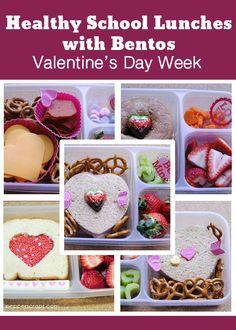 Healthy School Lunches: Valentine's Day Bentos   Pepper Scraps