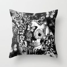 REM Throw Pillow by Kristy Patterson Design