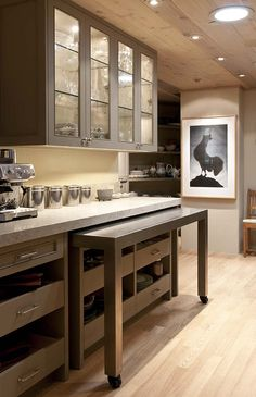 New kitchen renovation design counter tops Ideas New Kitchen Cabinets, Kitchen Countertops, Dark Cabinets, Kitchen Flooring, Gray Countertops, Corner Cabinets, Cupboards, Kitchen Appliances, Beautiful Kitchens