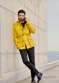 Sebastian Stan for Hugo Boss Spring/Summer 2018 Collection