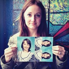 Portraits of People Holding Photos from Their Awkward Years - My Modern Metropolisust about everyone has gone through an awkward phase in their life and designer Merilee Allred's Awkward Years Project exposes just how much people can change with time and age. The ongoing portrait series features people holding up a picture of their former selves as kids with braces, questionable fashion choices, and embarrassing hairstyles.