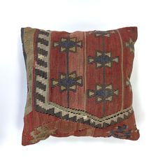 Vintage Wool Turkish Moroccan Colourful Kilim Cushion Covers 40x40cm 16 in Small Sofa, Kilim Cushions, Vintage Wool, Throw Pillows, Cushions, Moroccan Carpets, Scatter Cushions, Cushion Covers, Pillow Covers