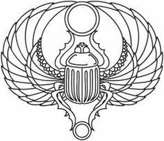 Scarab design (UTH2194) from UrbanThreads.com  $1.00