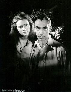 Tilda Swinton and Derek Jarman