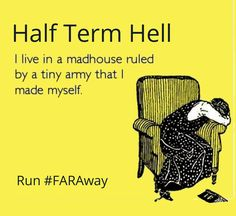 Run #FARAway for extra books, toys, wellies and woollies to add to the half term madness!
