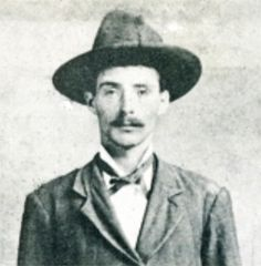 Arkansas Tom Jones (Roy Daugherty  January 1, 1870 - August 16, 1924)  Outlaw and a member of the Wild Bunch Gang - killed during a gun fight
