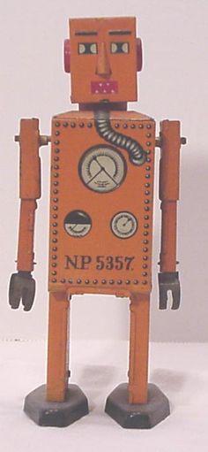1940's Robot Lilliput