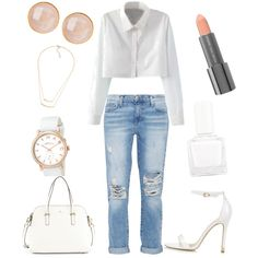 work day outfit by alexia7528 on Polyvore featuring polyvore fashion style Current/Elliott Topshop Kate Spade MARC BY MARC JACOBS Saachi Easy Spirit