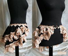 Victorian Steampunk Bustle Skirt DIY   Bustle skirt, burlesque victorian skirt…