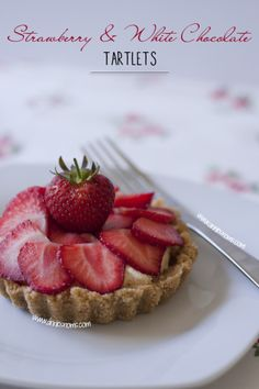 Strawberry and White Chocolate Tartlets | Tasty Kitchen: A Happy Recipe Community!