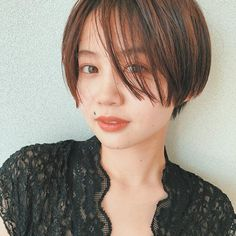 Asian Bangs, Short Pixie, Short Bob Hairstyles, Short Hair Styles, Hair Makeup, Hair Beauty, Chic, Awesome, Sexy